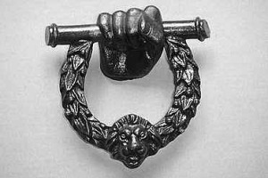 Wellington door knocker