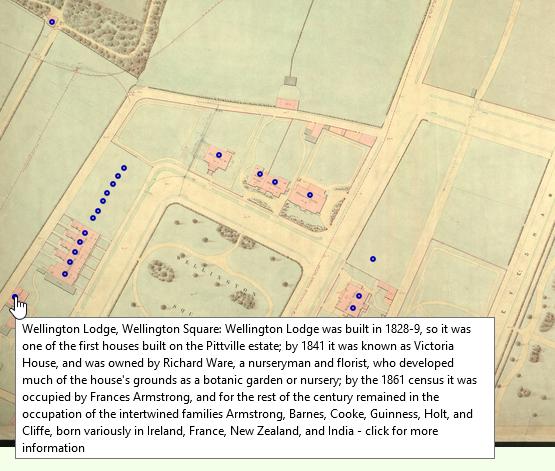 Wellington Square - map